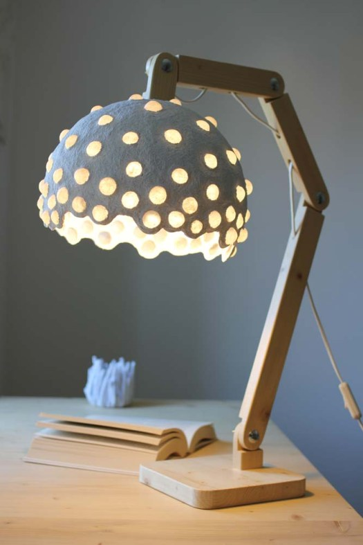 Paper desk lamp - large (1)
